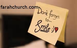 ابتسامة جذابة